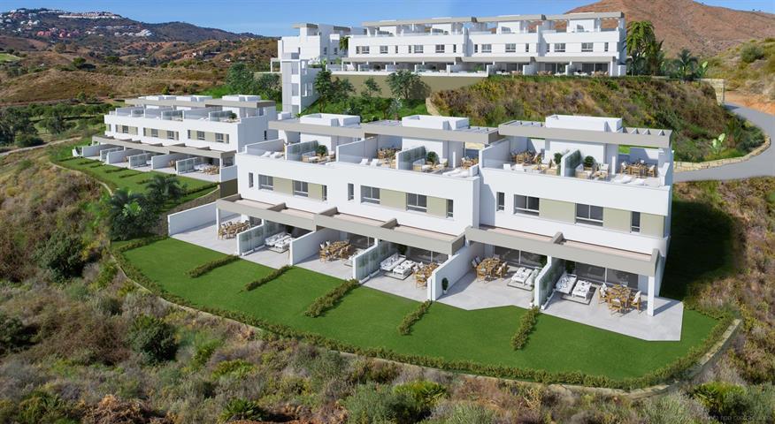 Villa jumelée à Mijas/Malaga, Costa del Sol