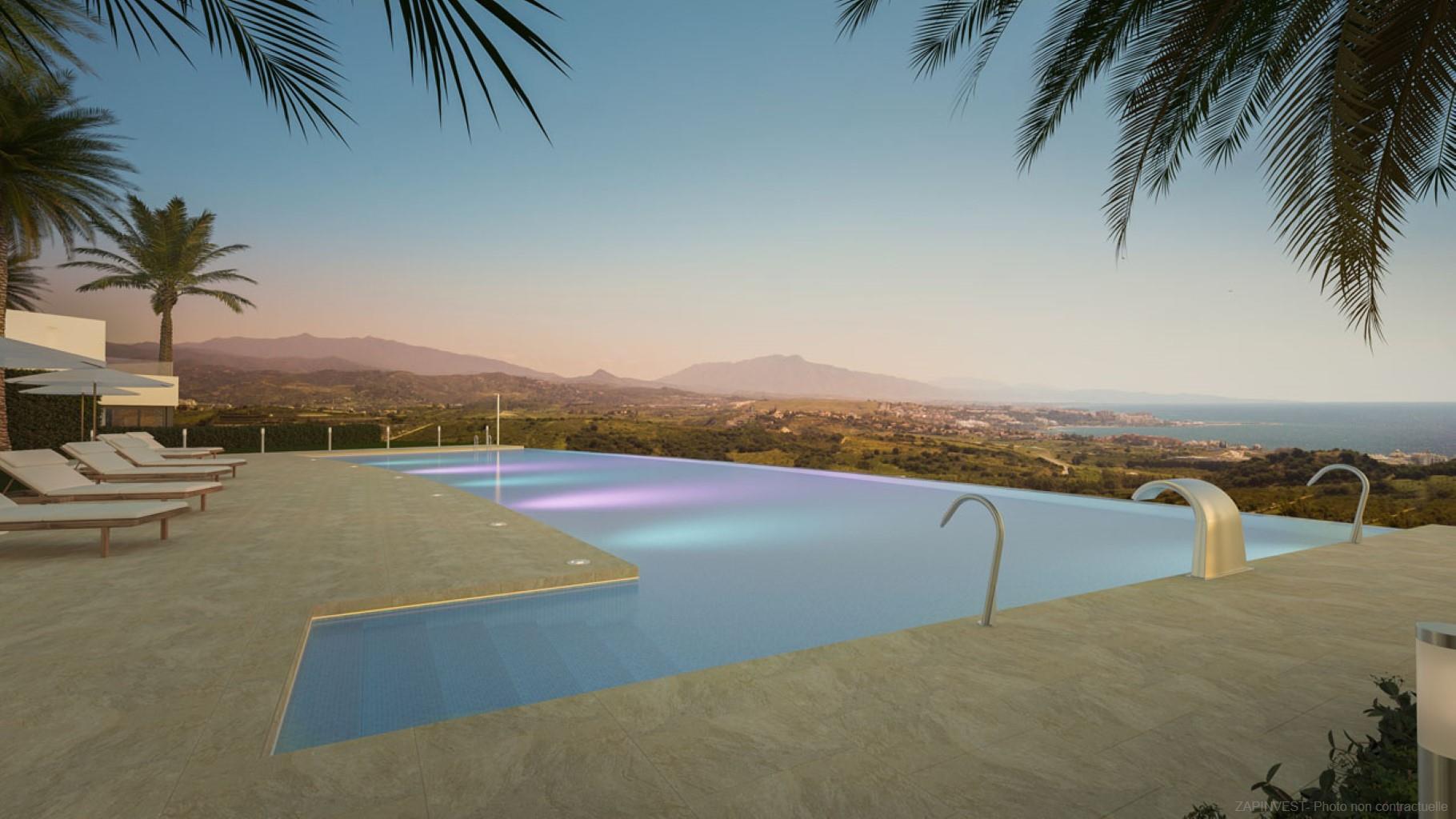 Prachtige penthouse op de Golf van Finca Cortesin. Eén van de beste golgbanen van Europa!