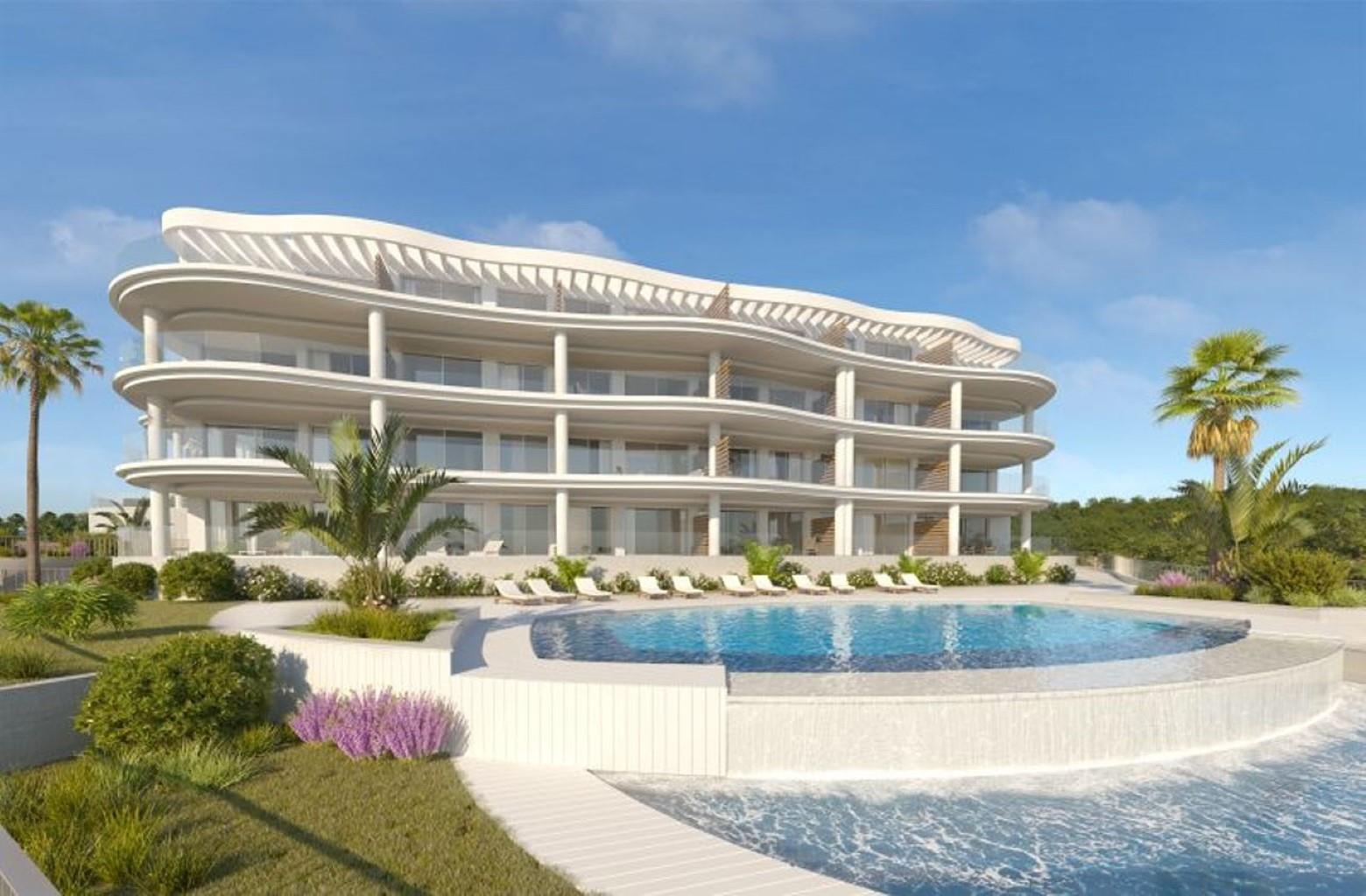 Splendide rez-de-chaussée orienté plein Sud, 2 chambres et 2 salles de bain avec une magnifique jardin de presque 30m². Certains rez-de-chaussée ont également une vue mer !