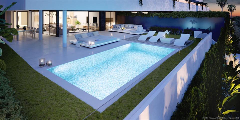 Appartement à Nueva Milla De Oro/Malaga, Costa Del Sol