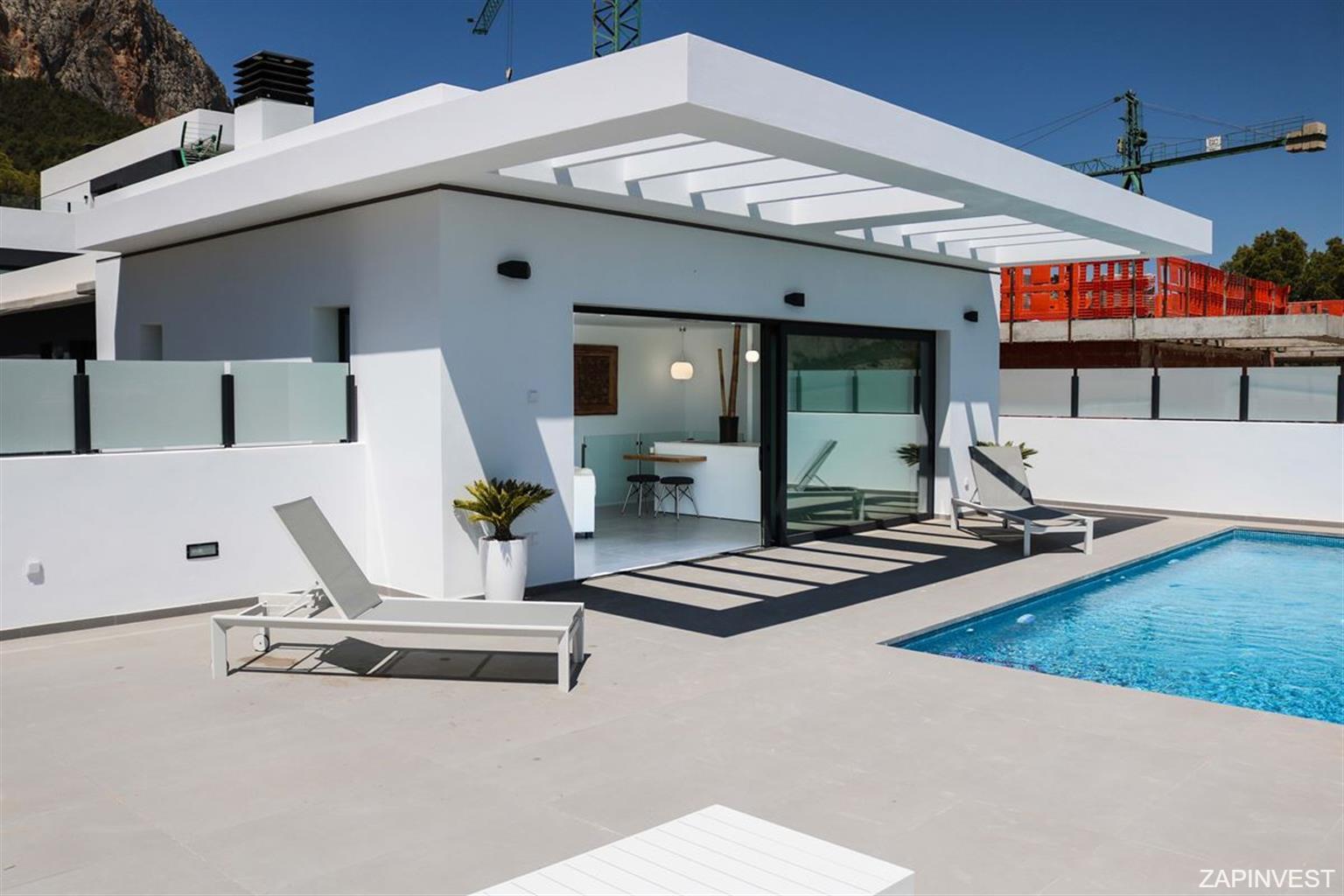 Villa de 3 chambres avec piscine privée à Polop