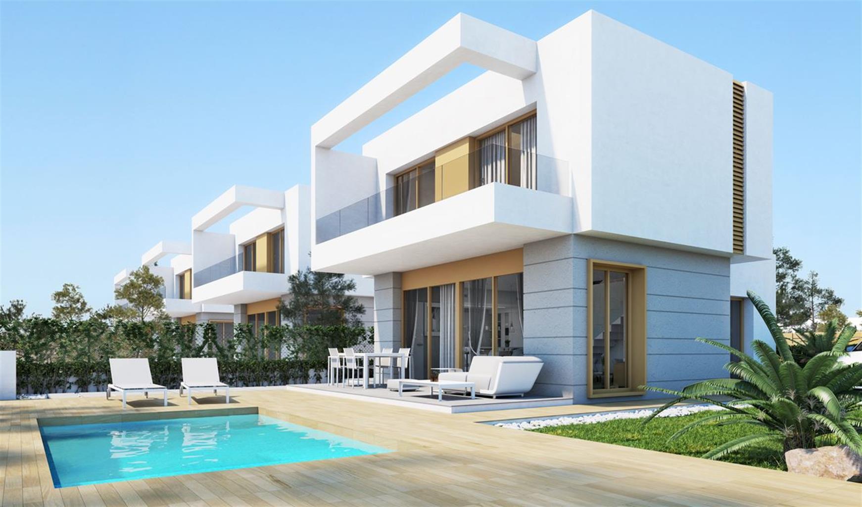 Grande villa contemporaine située au coeur du golf Vistabella.