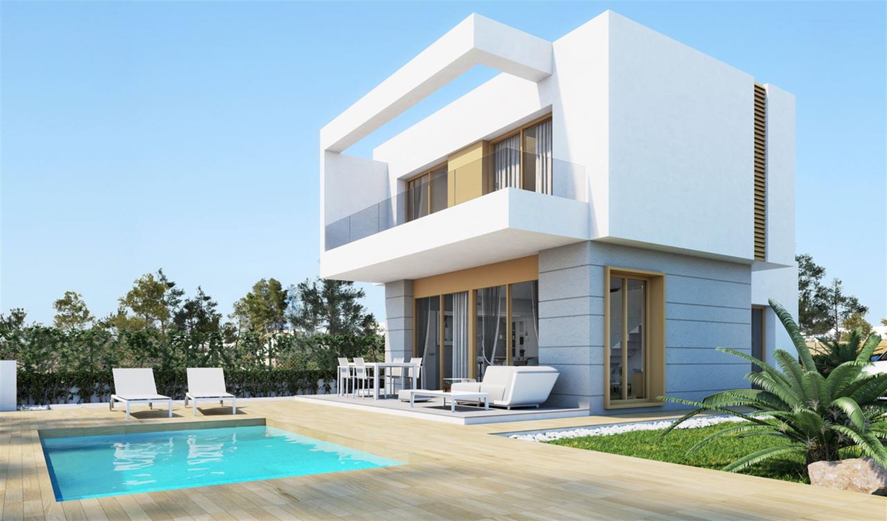 Grande villa contemporaine situé au coeur du golf Vistabella.