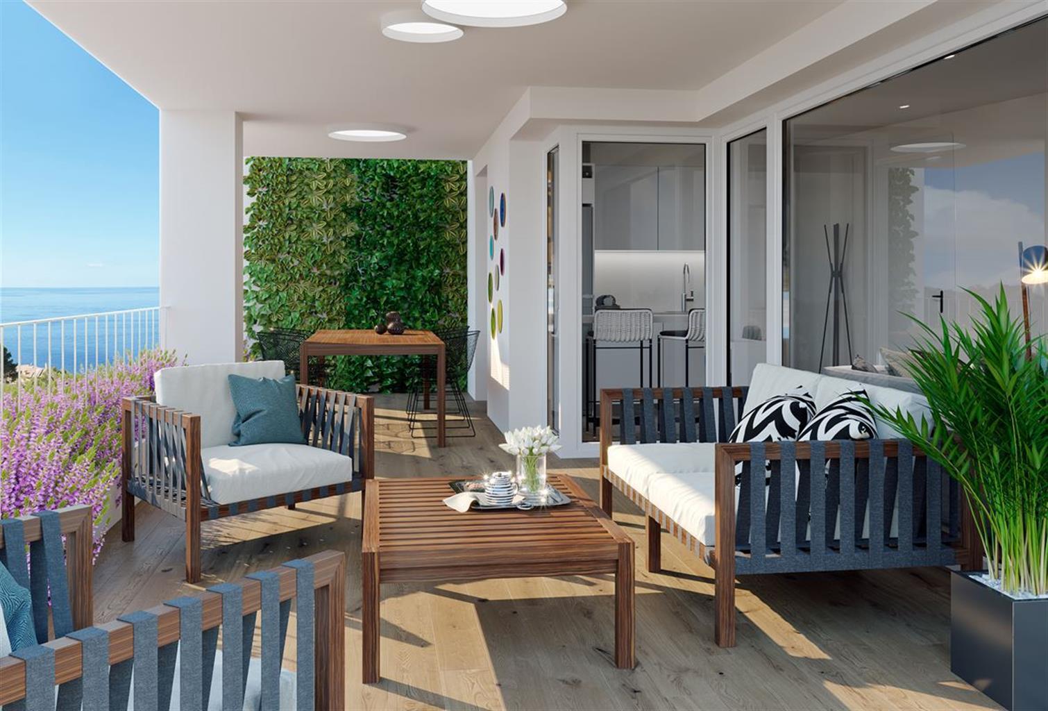 Appartement 3 chambres avec solarium à seulement 100m de la plage