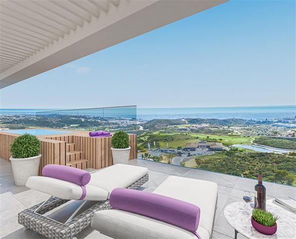 Penthouse à Mijas/Malaga, Costa del Sol