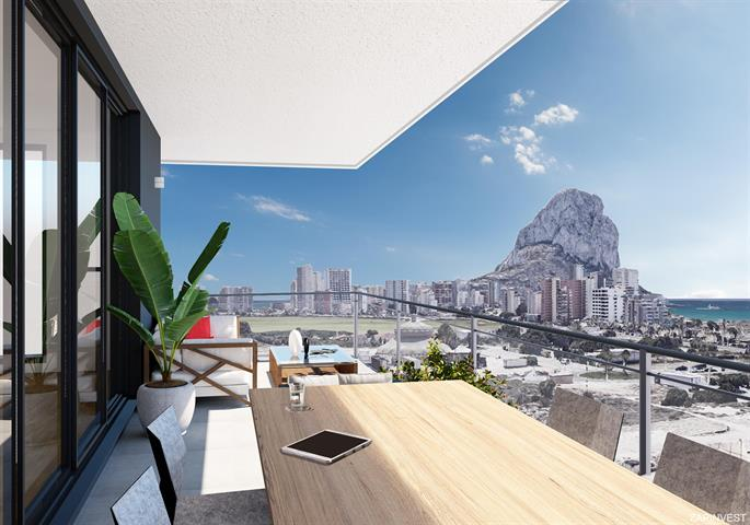 Appartement à Calpe, Costa Blanca Nord